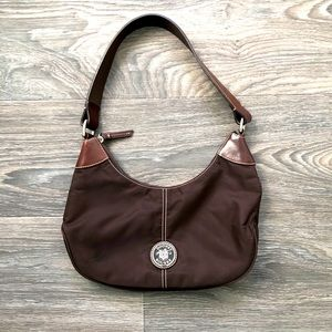 SALE🔥🔥 Dooney & Bourke Wayfarer Brown Nylon Bag